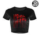 Help Me - Women's Crop Top