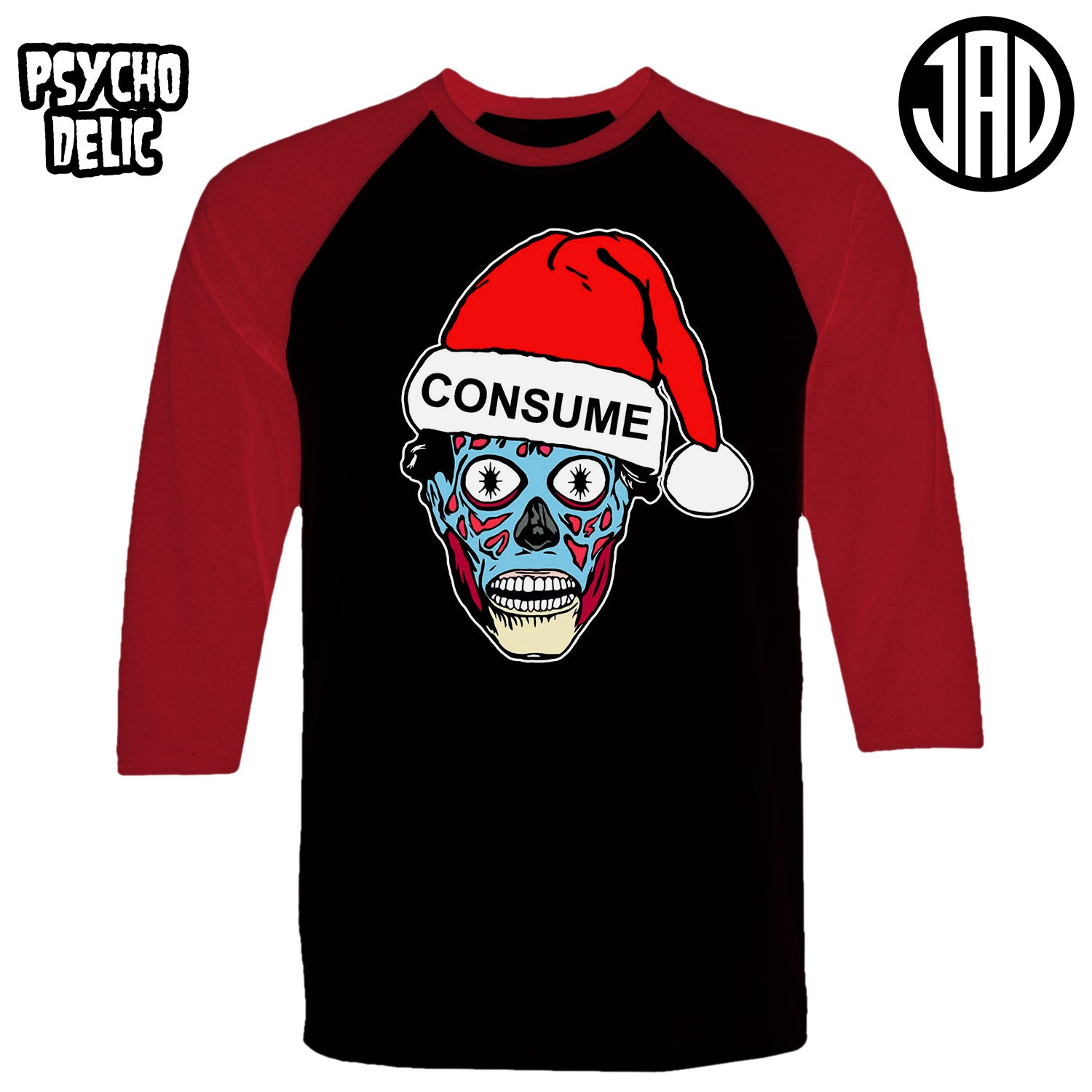 Holiday Consumer - Men's (Unisex) Baseball Tee