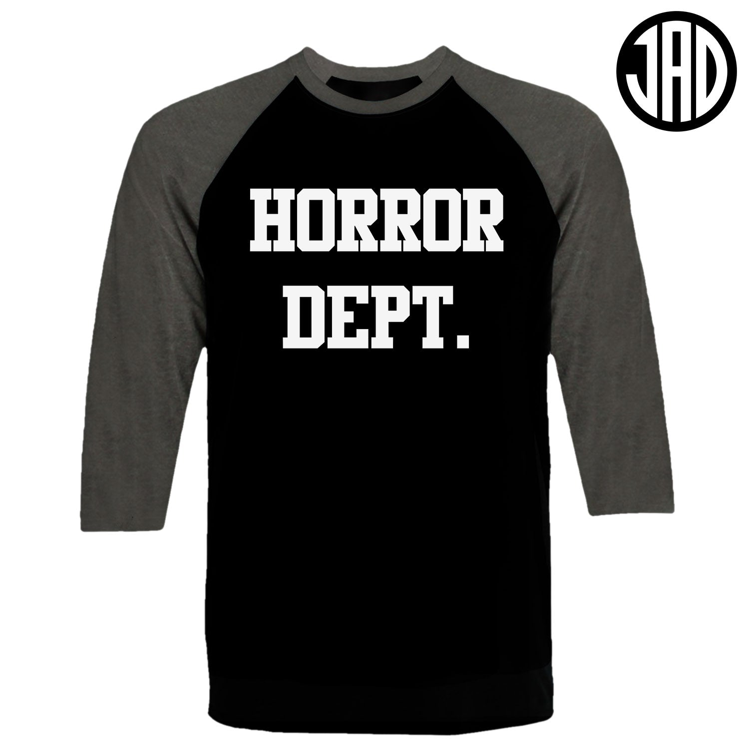 Horror Dept - Men's Baseball Tee