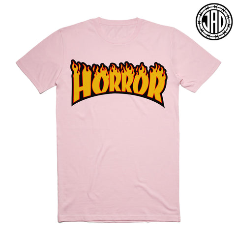 Horror Flames - Men's (Unisex) Tee