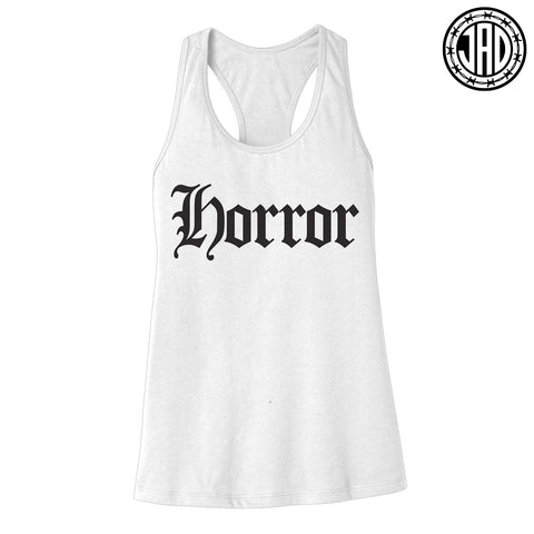 Horror Old E - Women's Racerback Tank