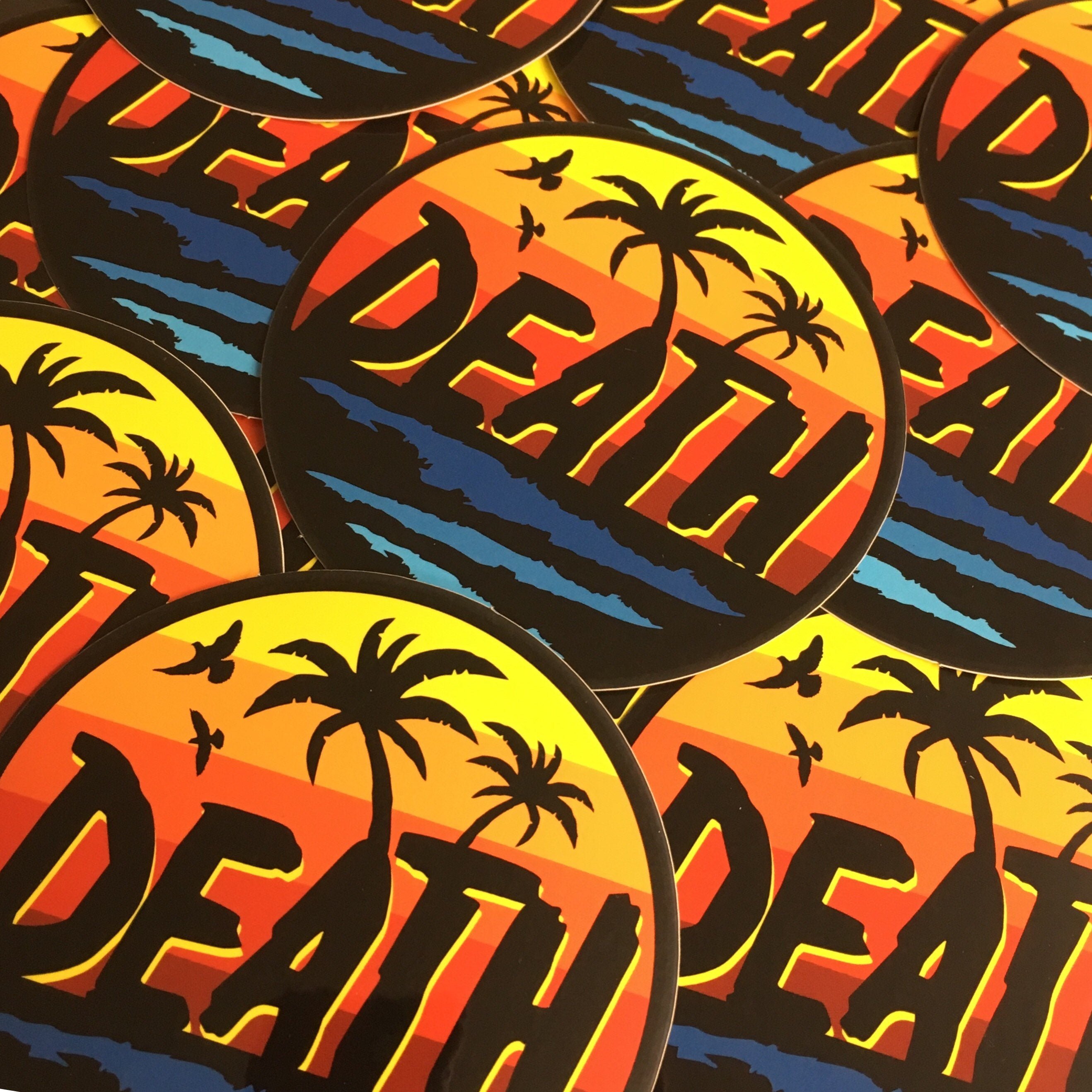 DEATH - Endless Vacation - Sticker