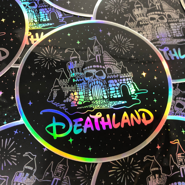 DEATHLAND - Holographic - Sticker