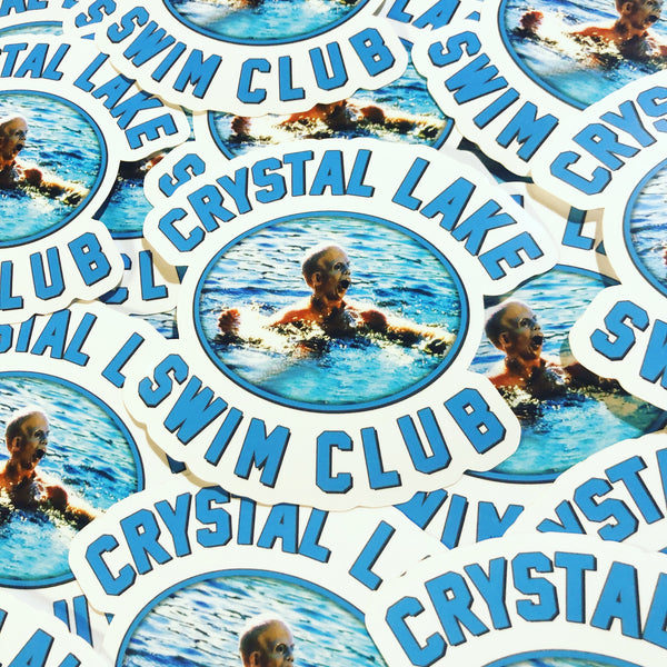 Crystal Lake Swim Club - Sticker