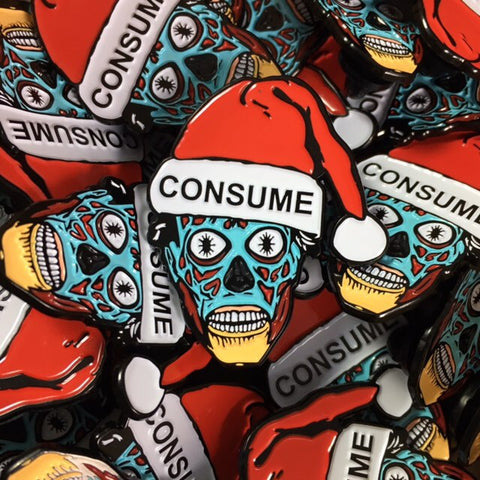 Holiday Consumer - Enamel Pin