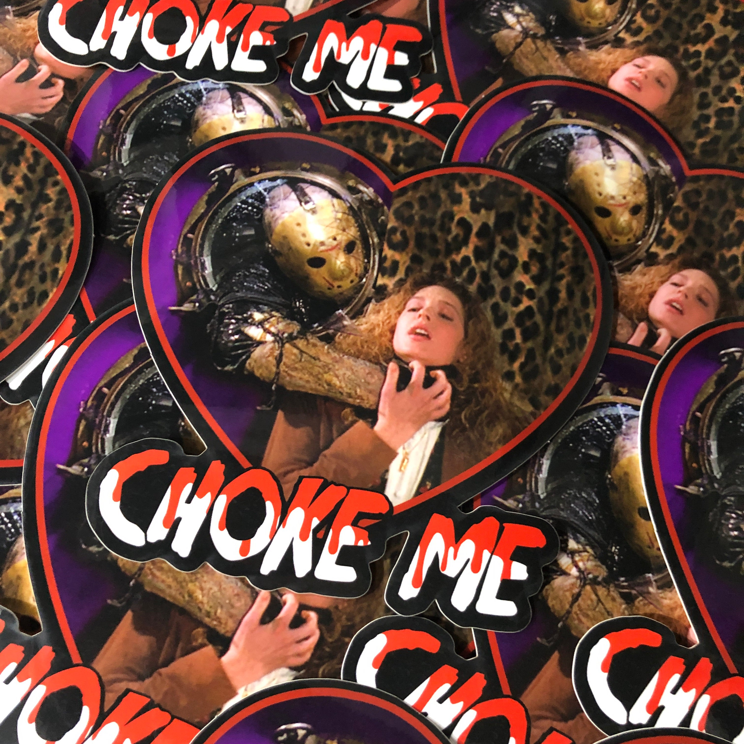 Choke Me - Sticker