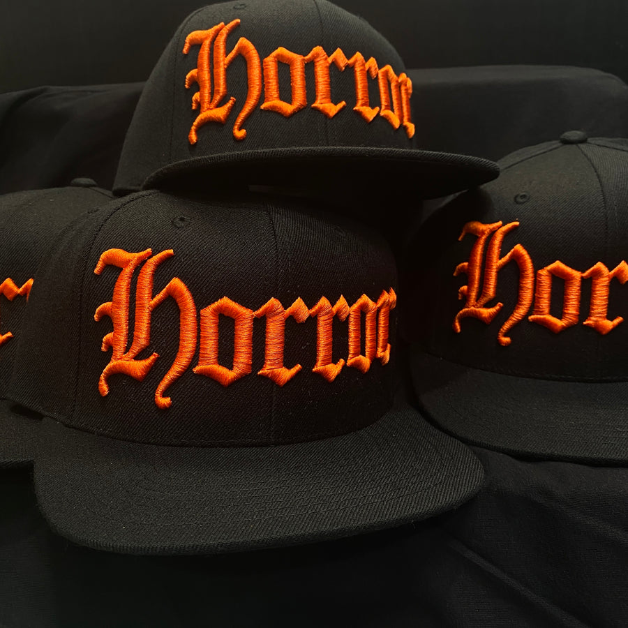 HORROR - Orange/Black - Hat