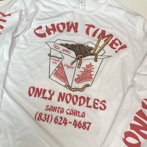 Chow Time - Men's (Unisex) Long Sleeve Tee