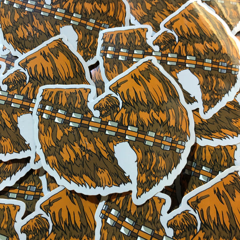 Wubacca - Sticker