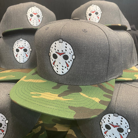 Camp Killer - Charcoal / Camo Bill - Snapback Hat