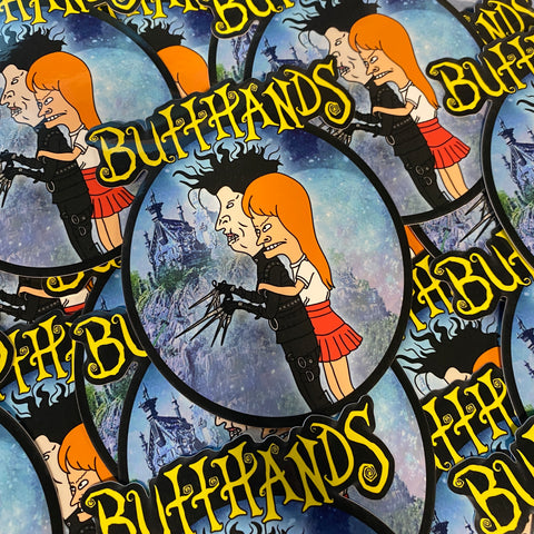 Butthands - Sticker