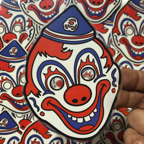 Clown Mask - Sticker