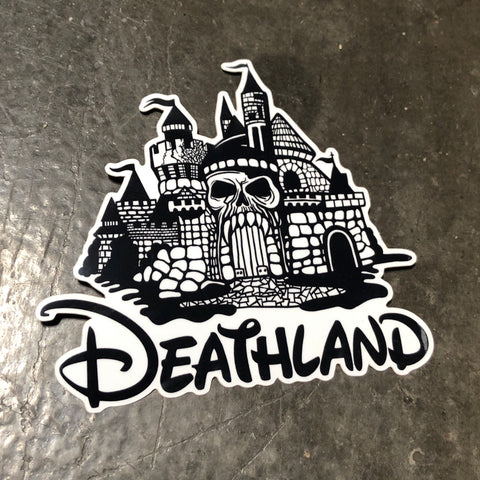 Deathland - Sticker
