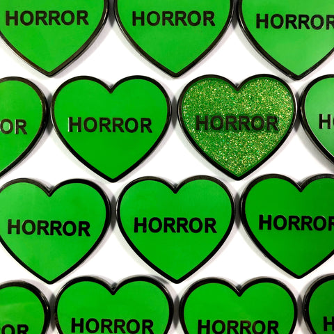 Horror Hearts - V2 - Enamel Pin