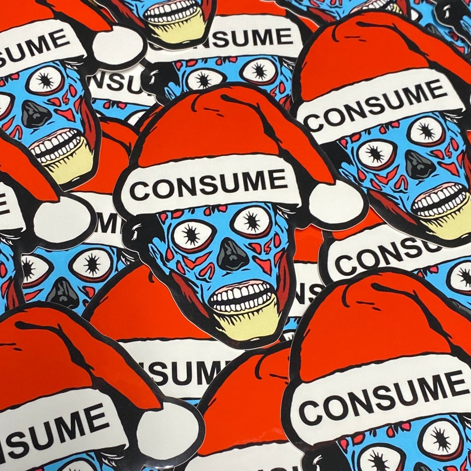 Holiday Consumer - Sticker