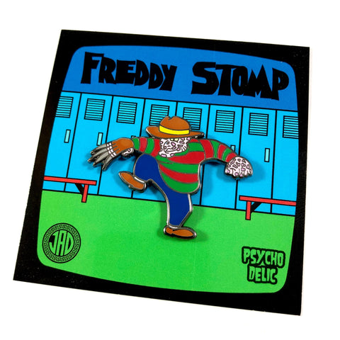 Freddy Stomp - Enamel Pin