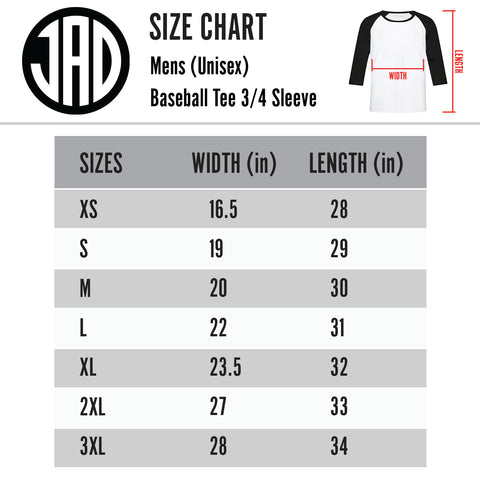 13 Layers V2 - Men's (Unisex) Baseball Tee