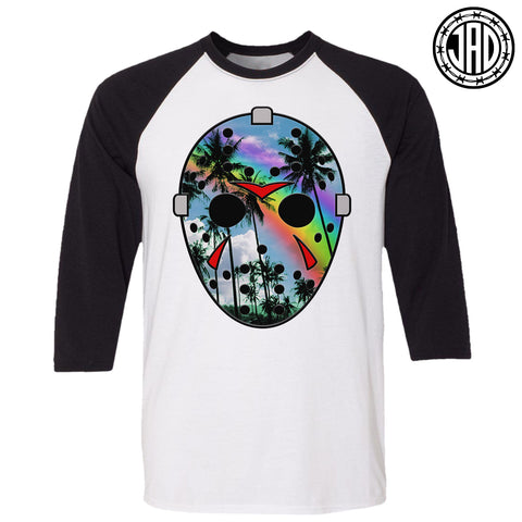 Jason In Paradise - V2 - Men's (Unisex) Baseball Tee