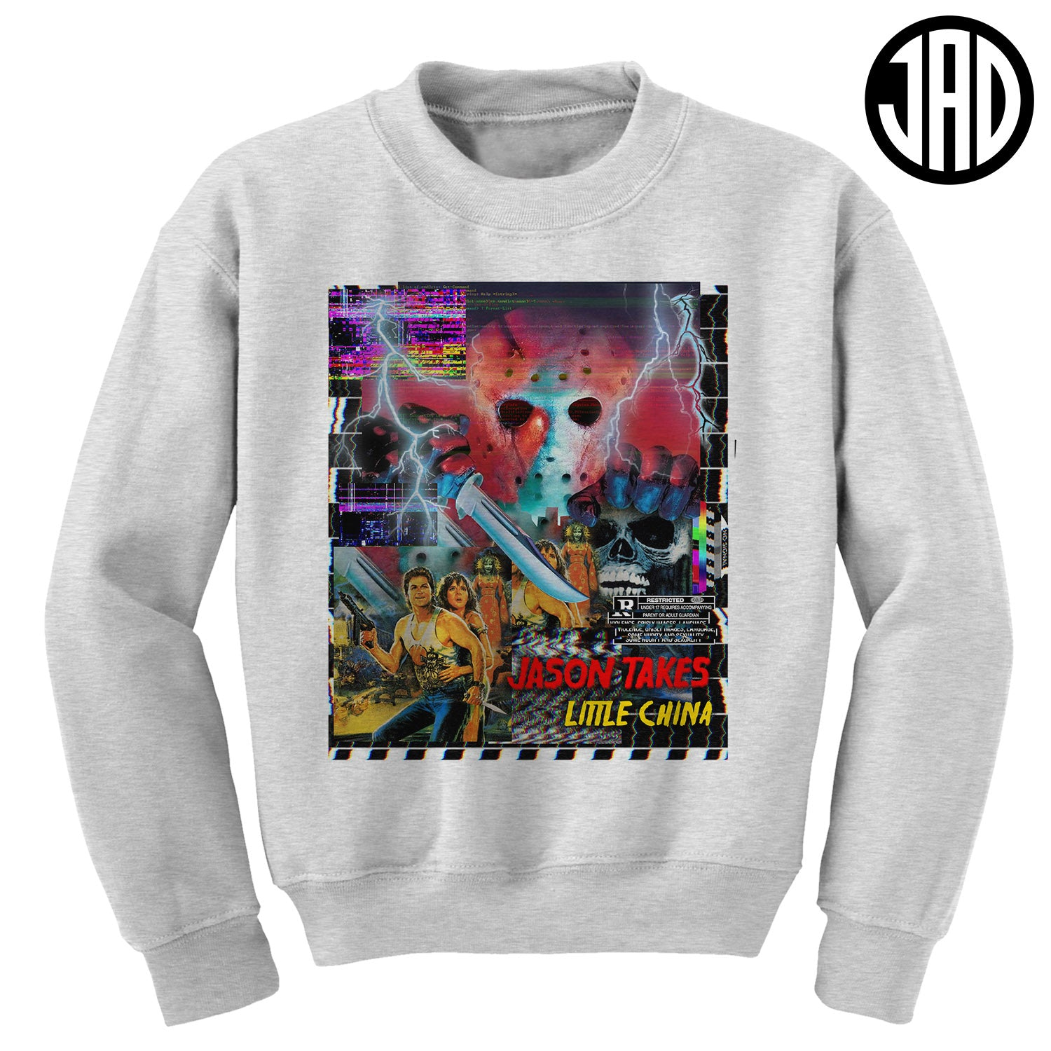Jason Takes Little China - Crewneck Sweater