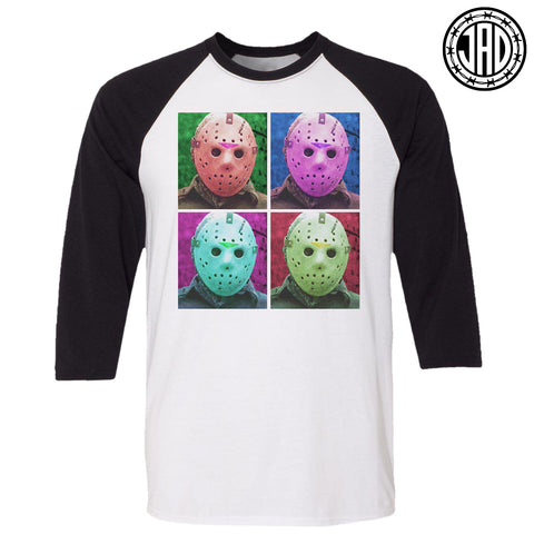 Warhol Jason - Men's (Unisex) Baseball Tee