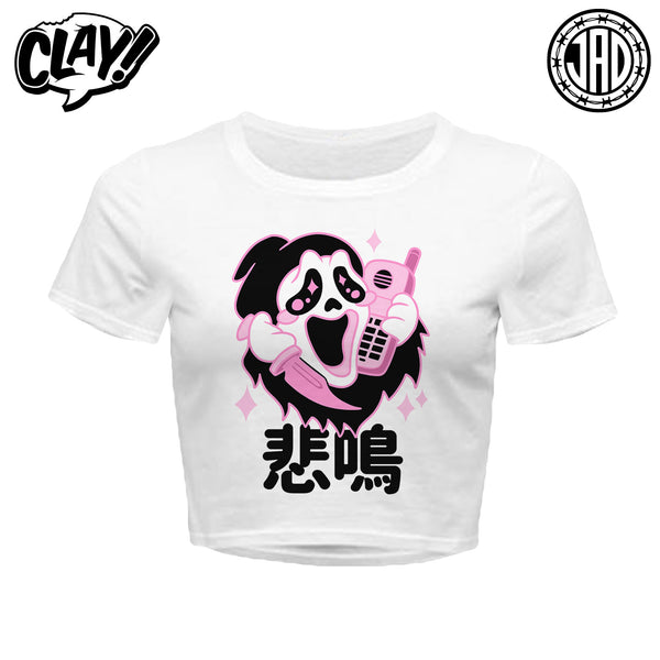 Kawaii Ghost - Women's Crop Top