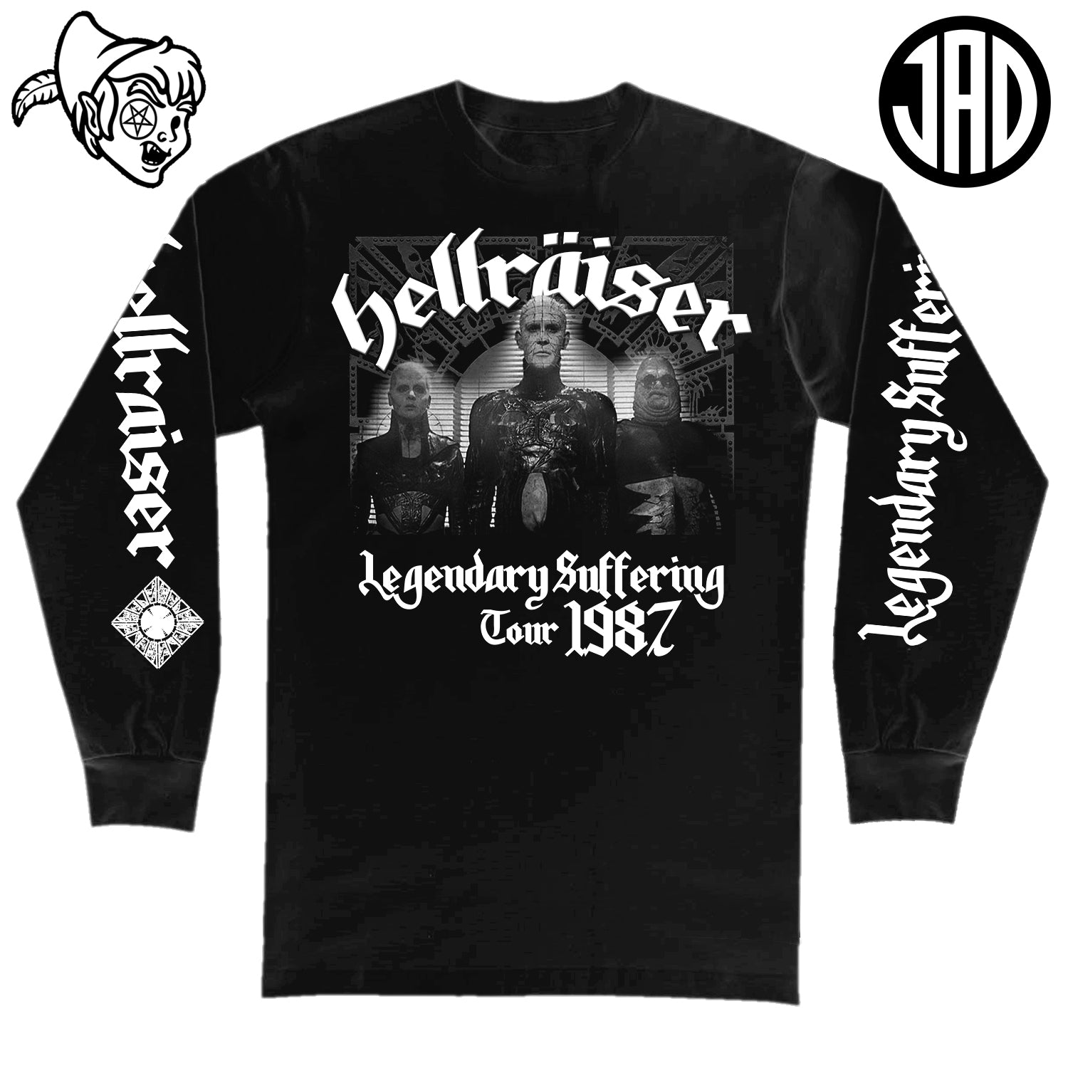 Legendary Suffering Tour 1987 - Men's (Unisex) Long Sleeve Tee