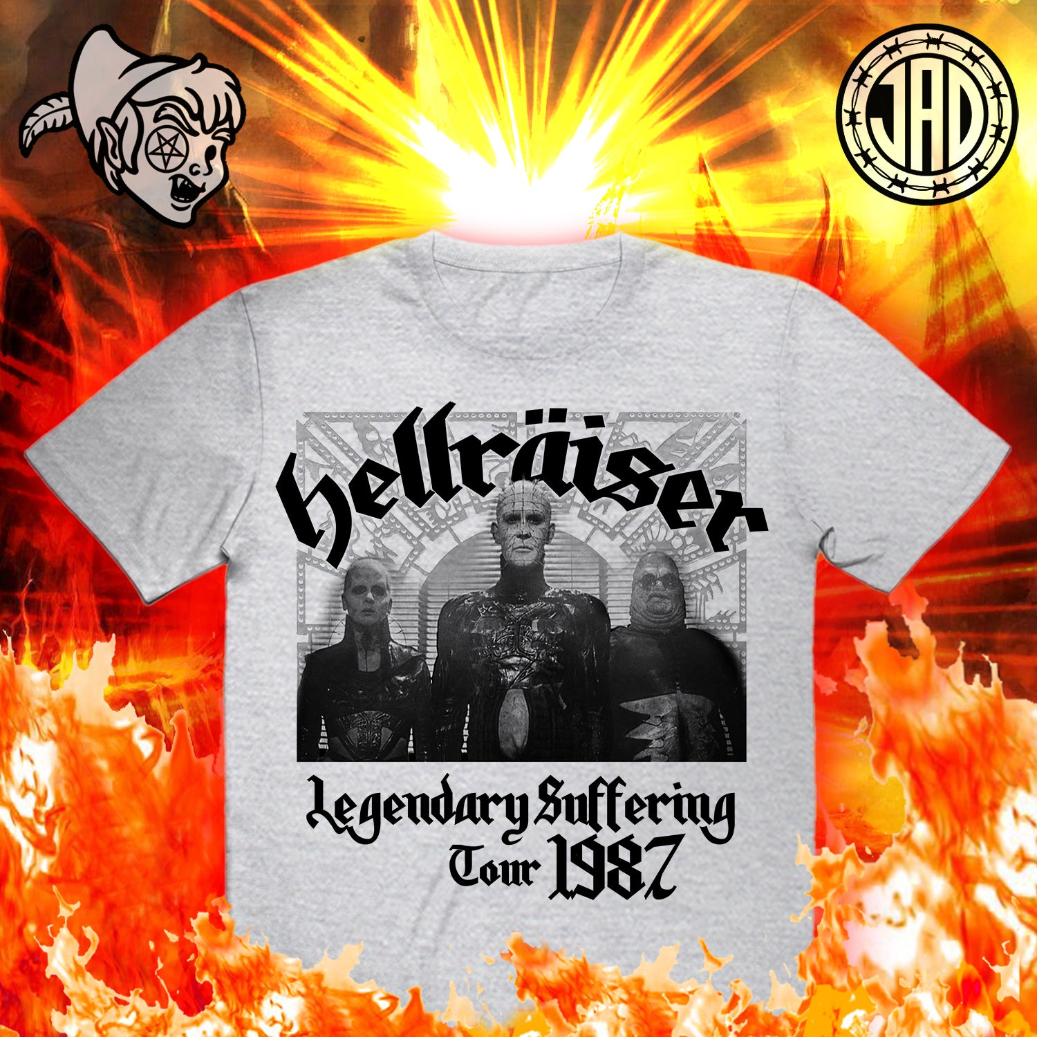 Legendary Suffering Tour 1987 - Men's (Unisex) Tee