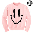 Melty Face - Crewneck Sweater