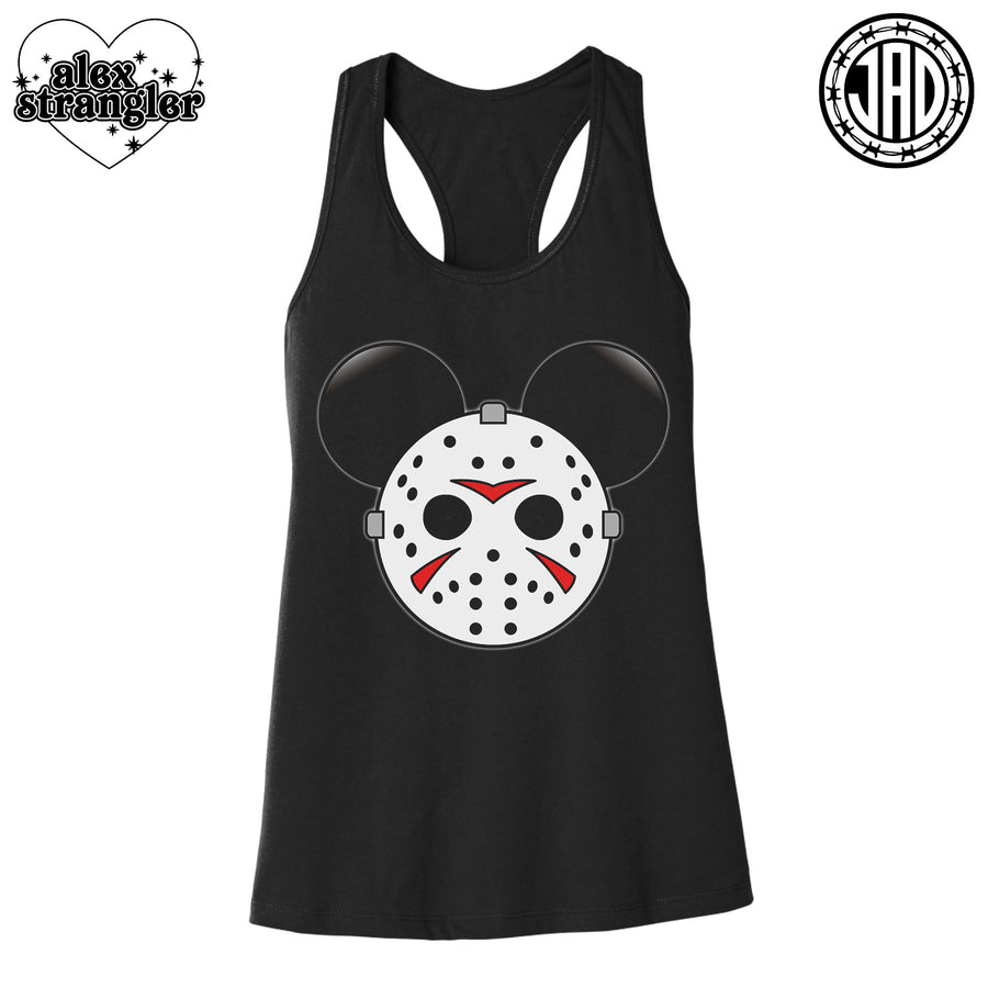 Mr. Murder Mouse - Women's Racerback Tank