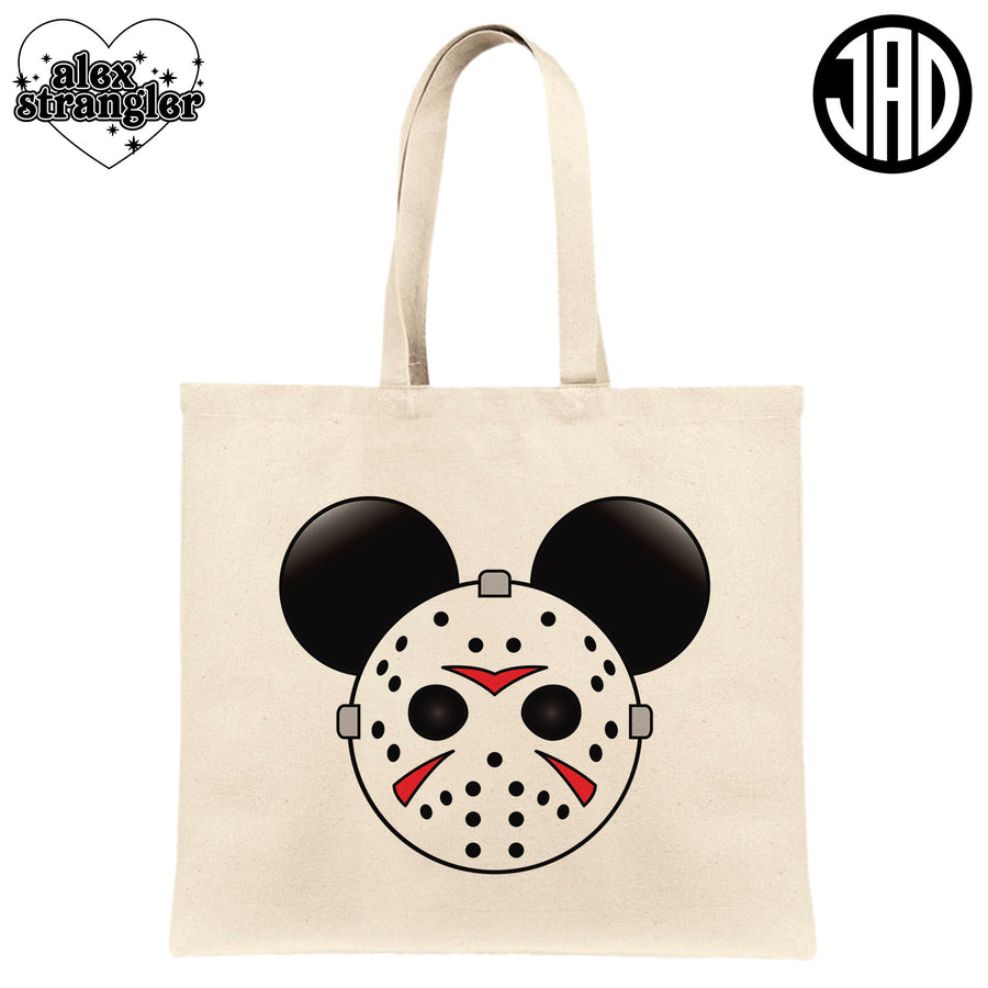 Mr. Murder Mouse - Canvas Tote Bag