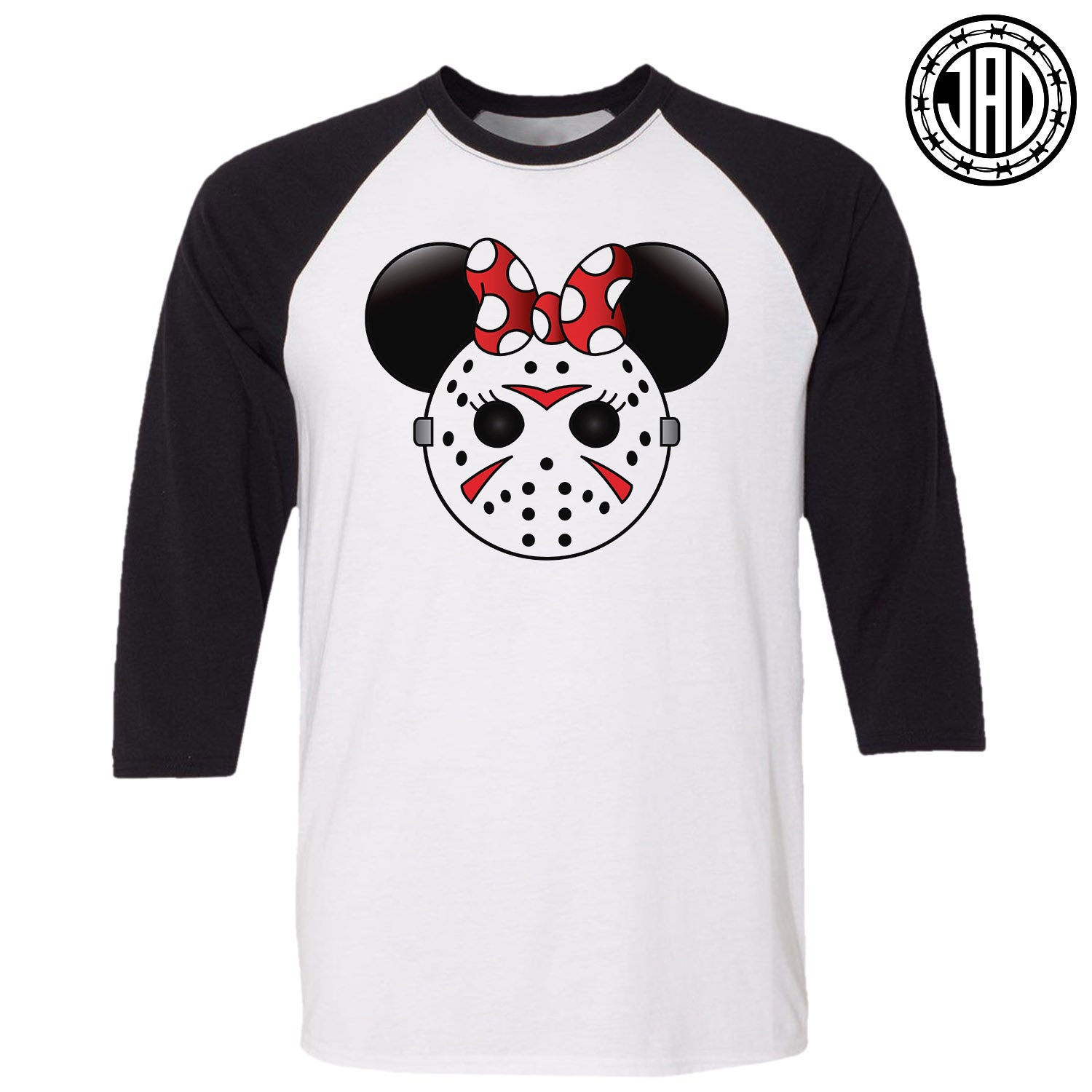 Mrs. Murder Mouse - Men's (Unisex) Baseball Tee