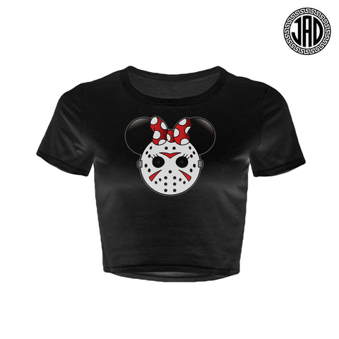 Mrs. Murder Mouse - Women's Crop Top