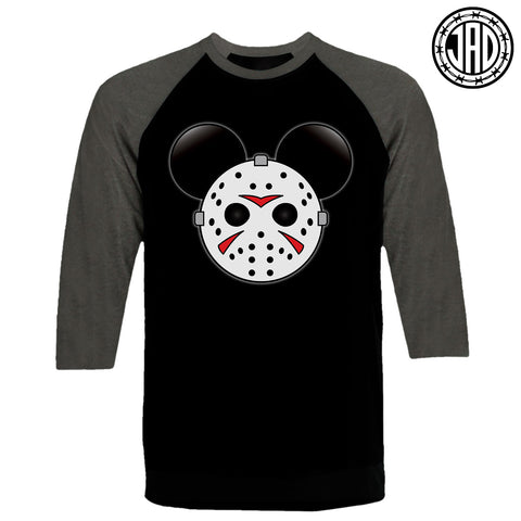 Mr. Murder Mouse - Men's (Unisex) Baseball Tee