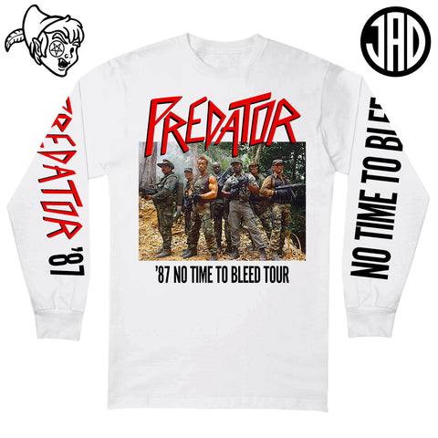 87 No Time To Bleed Tour - Men's (Unisex) Long Sleeve Tee