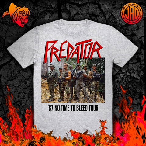 87 No Time To Bleed Tour - Men's (Unisex) Tee