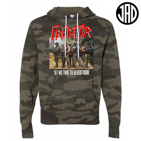 87 No Time To Bleed Tour - Mens (Unisex) Hoodie - Limited Camo