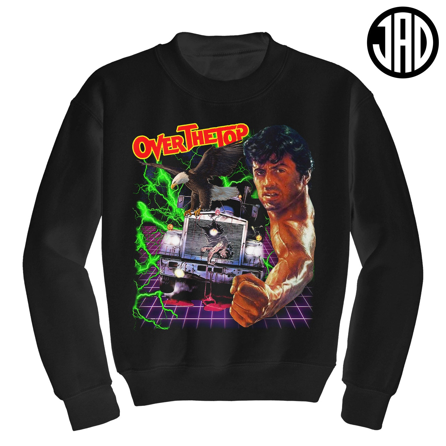 Over The Top - Crewneck Sweater