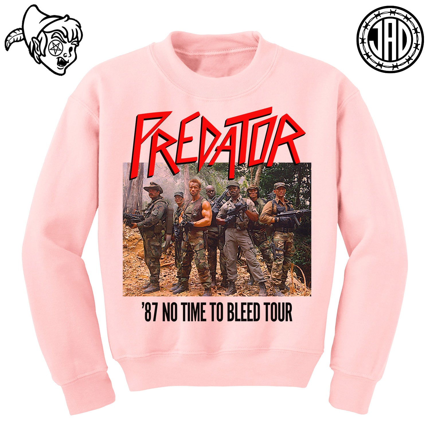 87 No Time To Bleed Tour - Crewneck Sweater