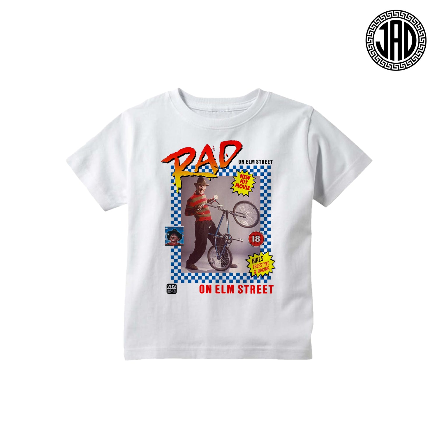 Rad On Elm Street - Kid's Tee