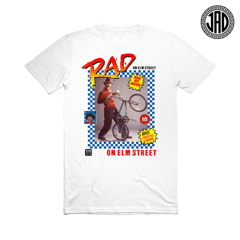Rad On Elm Street - Men's (Unisex) Tee