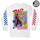 Rad On Elm St - Men's (Unisex) Long Sleeve Tee