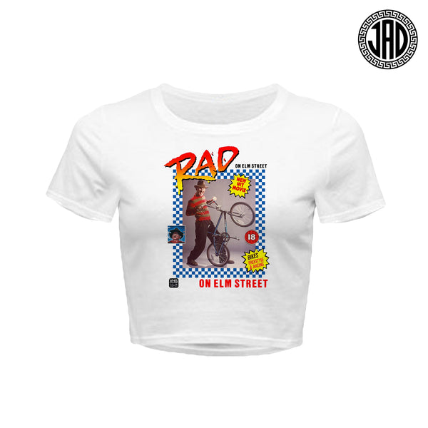 Rad On Elm Street - Women's Crop Top