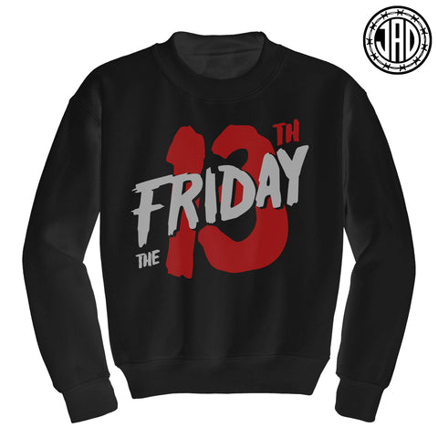 13 Retro - Mens (Unisex) Crewneck Sweater