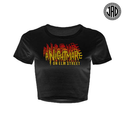 Vintage Nightmare - Women's Crop Top