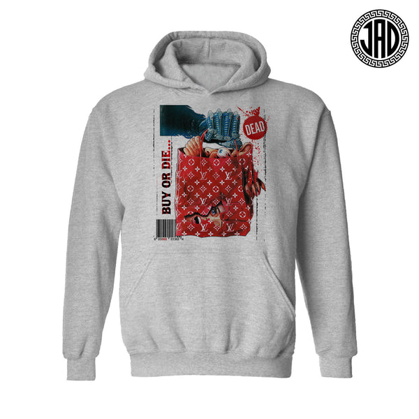 Shop Til You Drop - Mens (Unisex) Hoodie