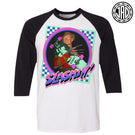 Slashin Fred - Men's (Unisex) Baseball Tee