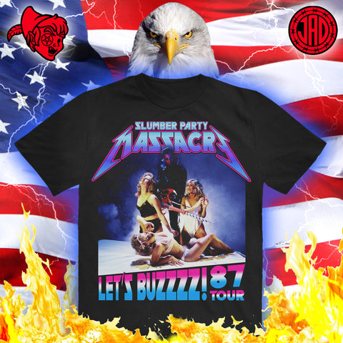 Let's Buzzzz! '87 Tour - Men's (Unisex) Tee