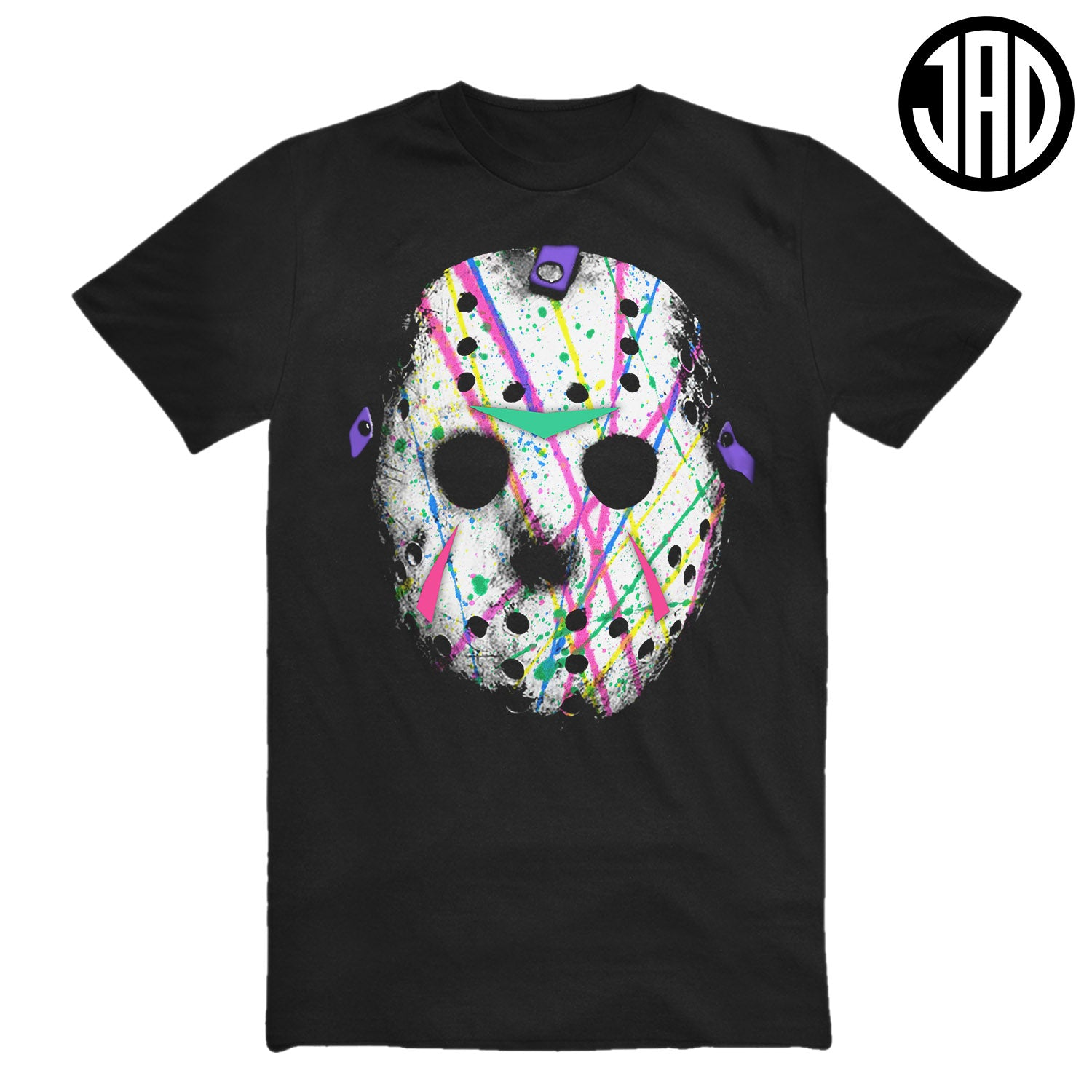Splatter Wave Mask - Men's (Unisex) Tee