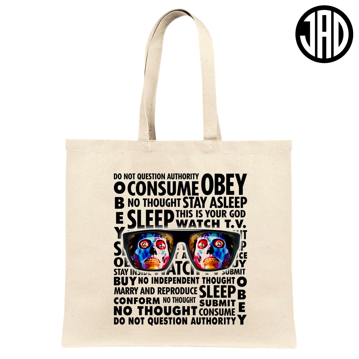 Stay Asleep - Canvas Tote Bag