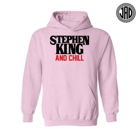 Stephen King And Chill - Mens (Unisex) Hoodie